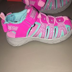 Cat & Jack Shoes - Toddler size 6 pink closed toe sandals